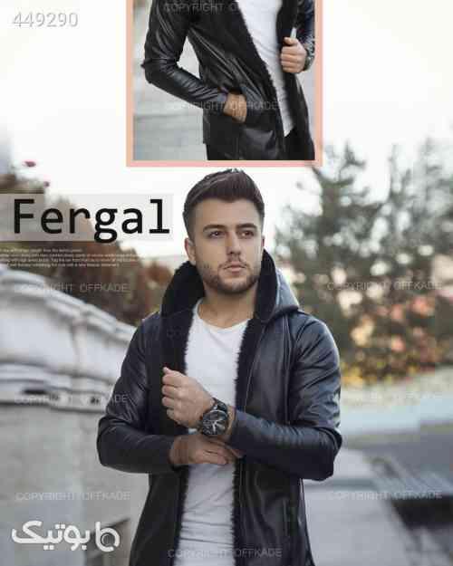 شنل خزدار مردانه Fergal  مشکی 99 2020