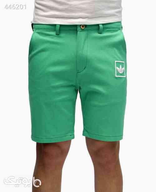 شلوارک مردانه Adidas کد 3236 سبز 99 2020
