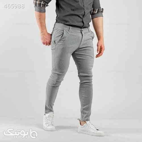 شلوار مردانه Denver مدل 12848 خاکستری طوسی 99 2020