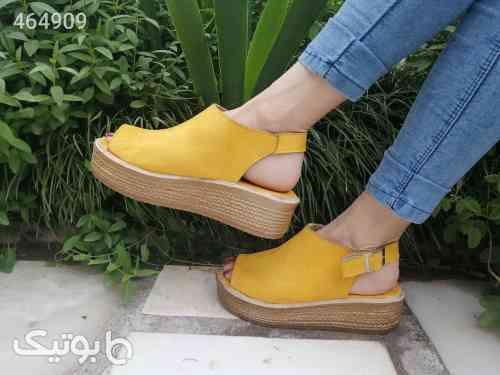 کفش زنانه آیلار زرد 99 2020