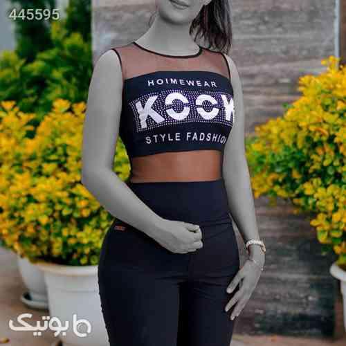 تاپ دخترانه مدلCook(مشکی) مشکی 99 2020