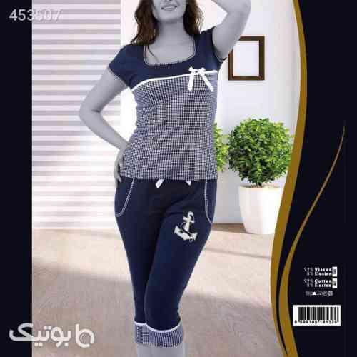 ست لباس راحتی زنانه تکنور سورمه ای 99 2020