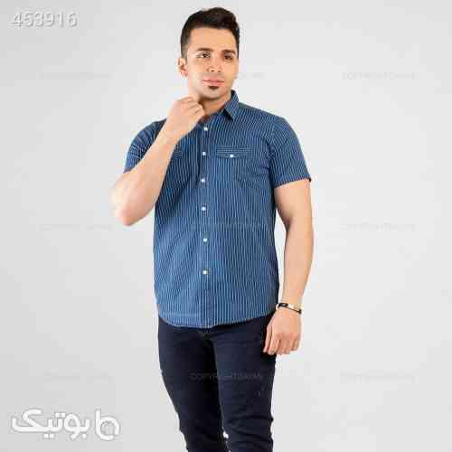 پیراهن مردانه  نورتون آبی 99 2020
