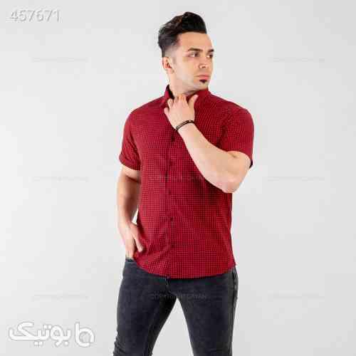پیراهن مردانه Alma مدل 13505 قرمز 99 2020