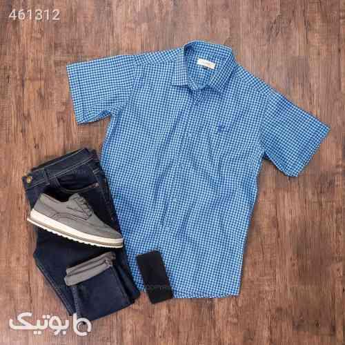 پیراهن مردانه Alma آبی 99 2020