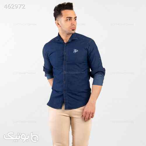 پیراهن مردانه Benson مدل 13440 سورمه ای 99 2020