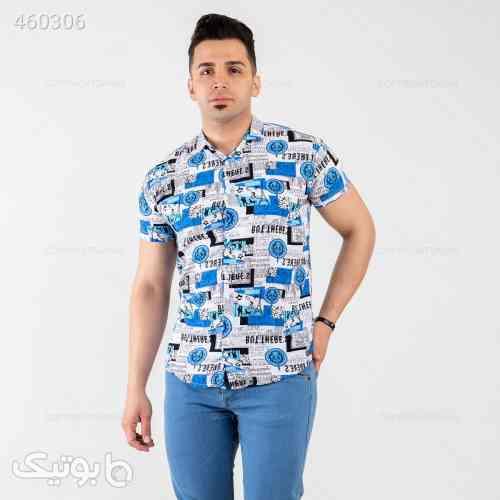پیراهن نخی فیروزه ای 99 2020