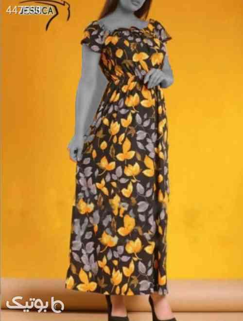 ساحلی مدل گلدار زرد 99 2020