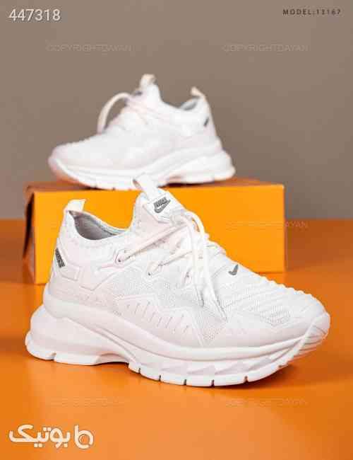 کفش زنانه Nike مدل 13167  سفید 99 2020