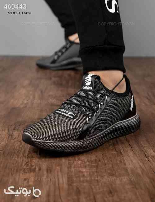 کفش ورزشی مردانه Adidas مدل 13474 طوسی 99 2020