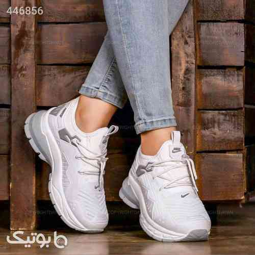 حراج کفش  نایکی زنانه به رنگ سفید سفید 99 2020