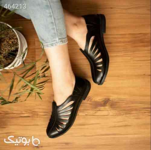 کفش تابستانه بسیارشیک وخاص خوش پا مشکی 99 2020
