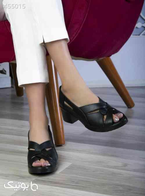 کفش مدل بافت مشکی 99 2020