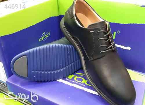 کفش تمام چرم طبّی هامان سورمه ای 99 2020