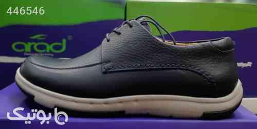 کفش تمام چرم طبی آراد مدل کیلر ۶ مشکی 99 2020