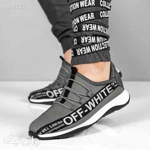 کفش روزمره آف وایت مدل 13704 خاکستری طوسی 99 2020