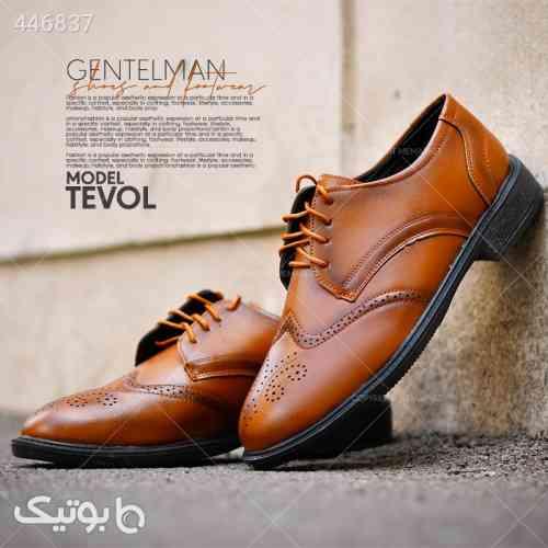 كفش مردانه مدل TEVOL زرشکی 99 2020