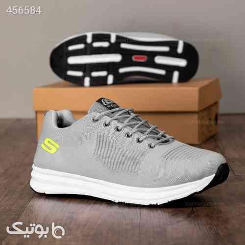 کفش مردانه Skechers نقره ای 99 2020