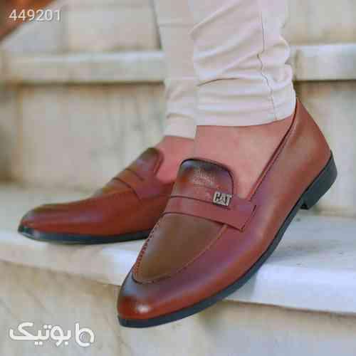 کفش مردانه cat مدل Kelerman قهوه ای 99 2020