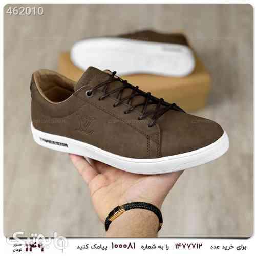 کفش کتونی مردانه لوییس ویتون قهوه ای 99 2020