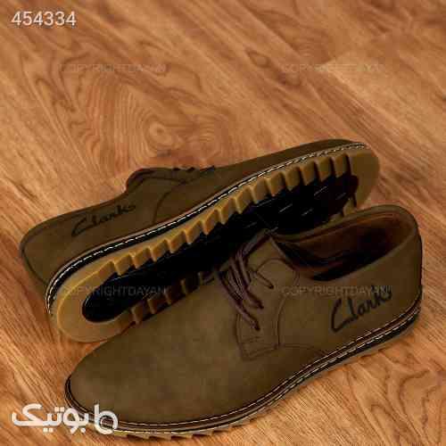 کفش Clarks مدل 12990 طلایی 99 2020
