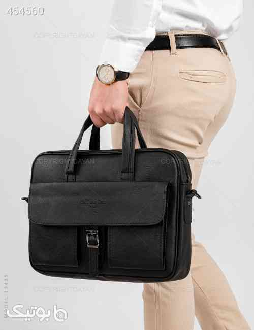 کیف اداری Dior مدل 13435 مشکی 99 2020