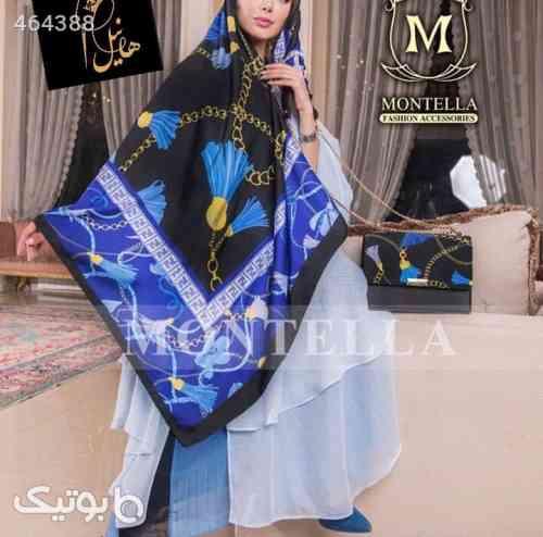 ست کیف و روسری  آبی 99 2020