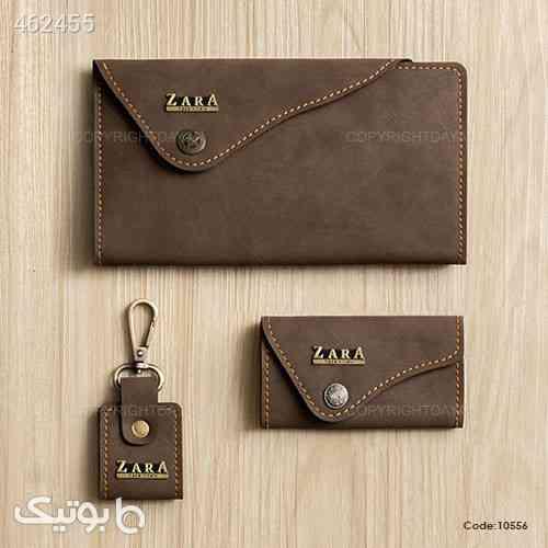 ست چرمی Zara مدل ۱۰۵۵۶ قهوه ای 99 2020
