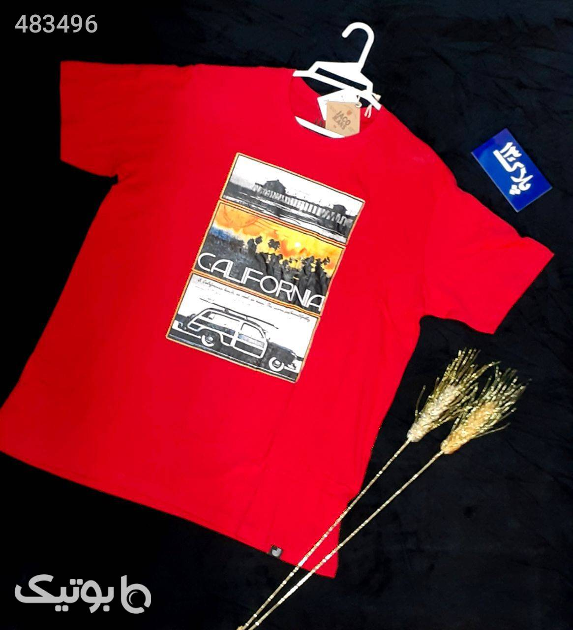 تیشرت  قرمز تی شرت و پولو شرت مردانه