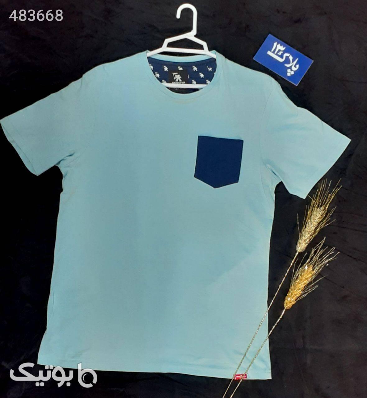 تیشرت  فیروزه ای تی شرت و پولو شرت مردانه