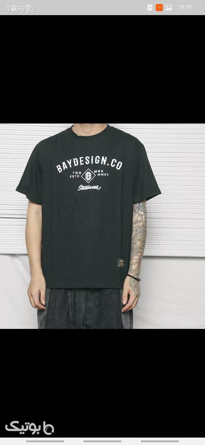 تیشرت  مشکی تی شرت و پولو شرت مردانه