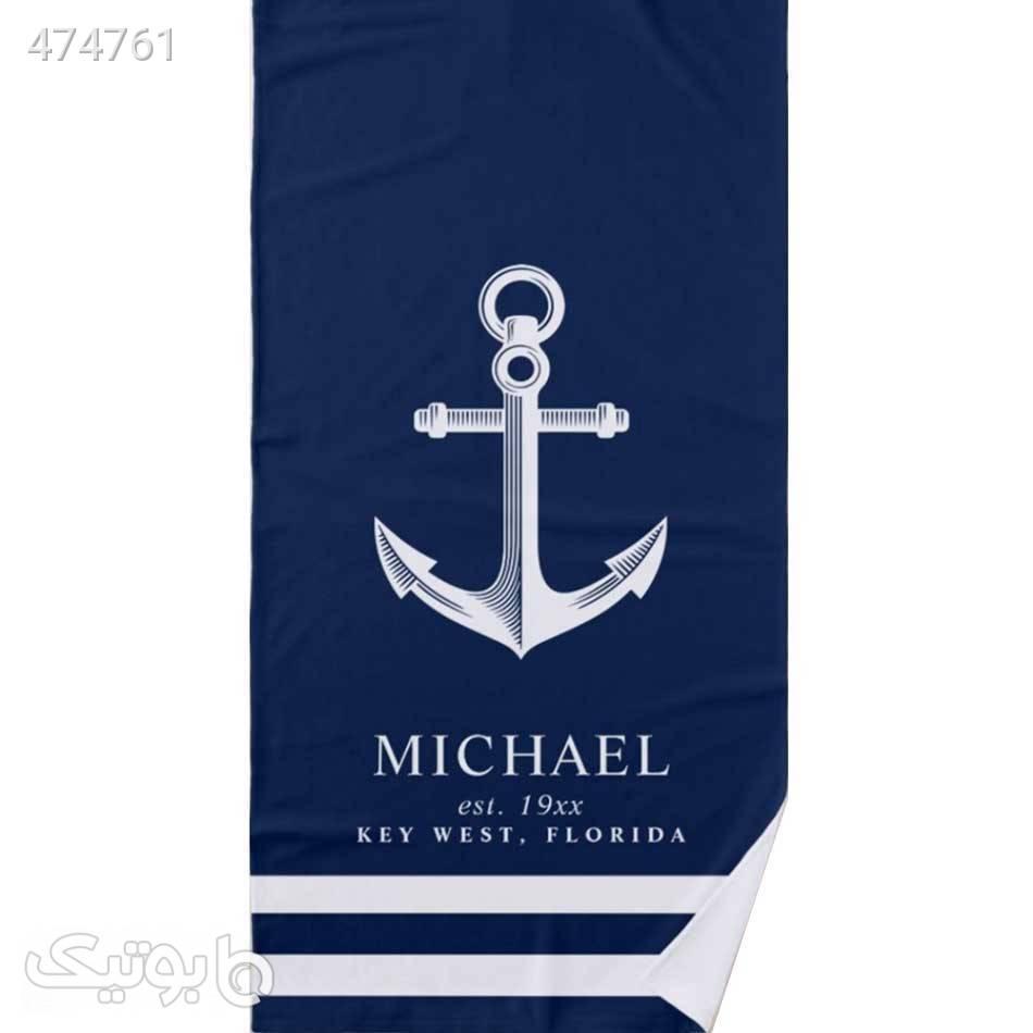 حوله نانو باشگاهی لوال هوم مدل Michael سورمه ای پوشاک و لوازم شنا مردانه