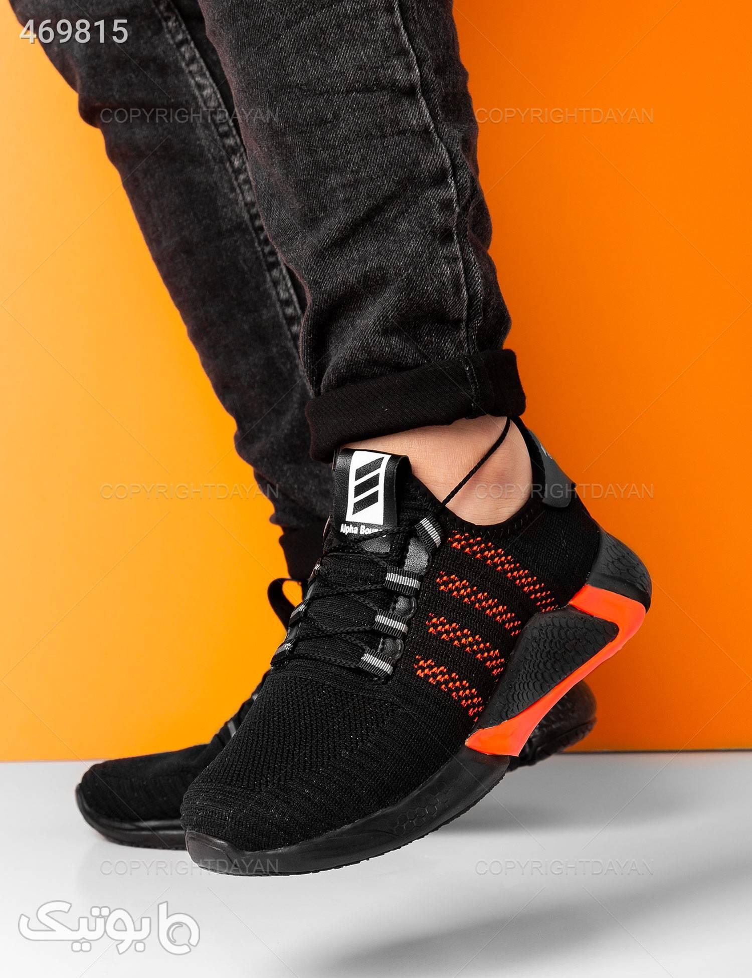 کفش ورزشی مردانه Adidas مدل 13845 مشکی كتانی مردانه