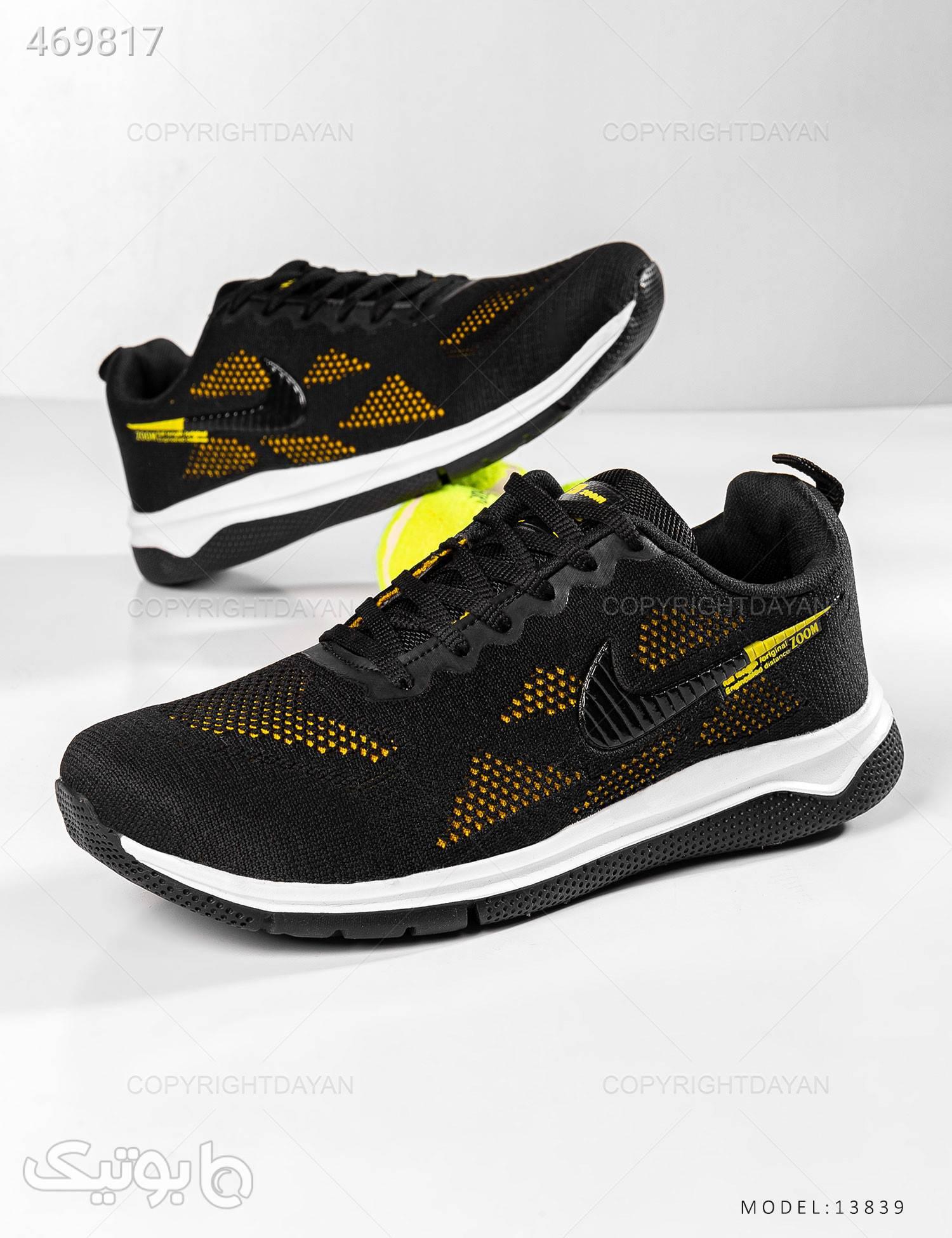 کفش ورزشی مردانه Nike مدل 13839 مشکی كتانی مردانه