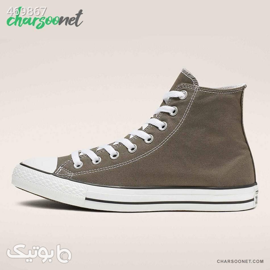 کفش اسنیکر کانورس Converse Chuck Taylor All Star سبز كفش زنانه