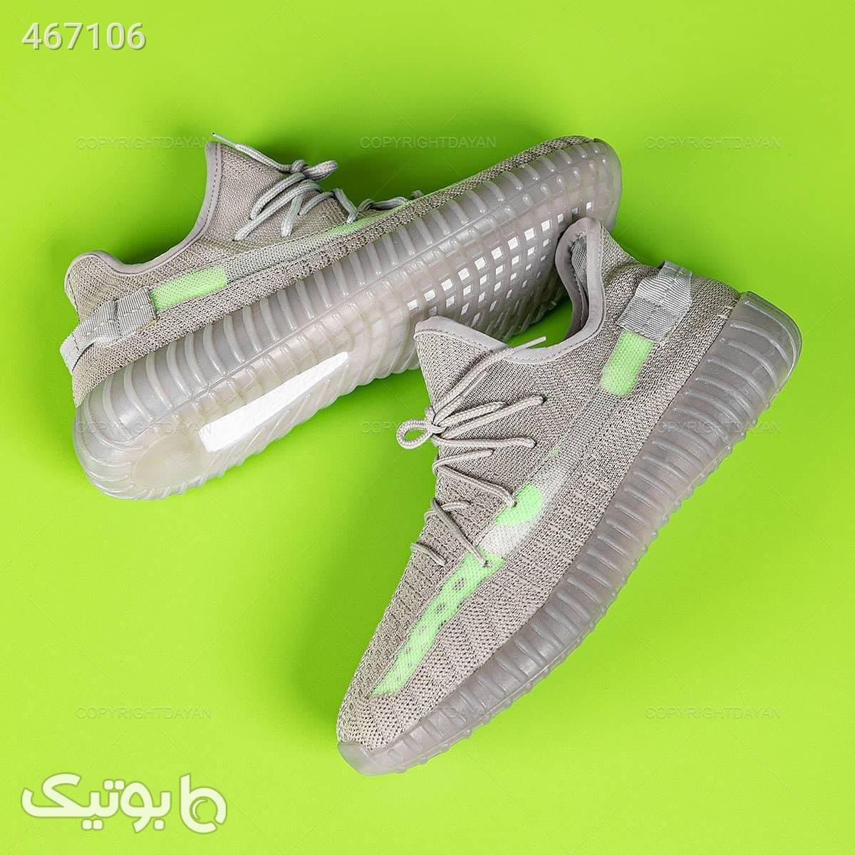 کفش مردانه آدیداس مدل 13203 خاکستری نقره ای كفش مردانه