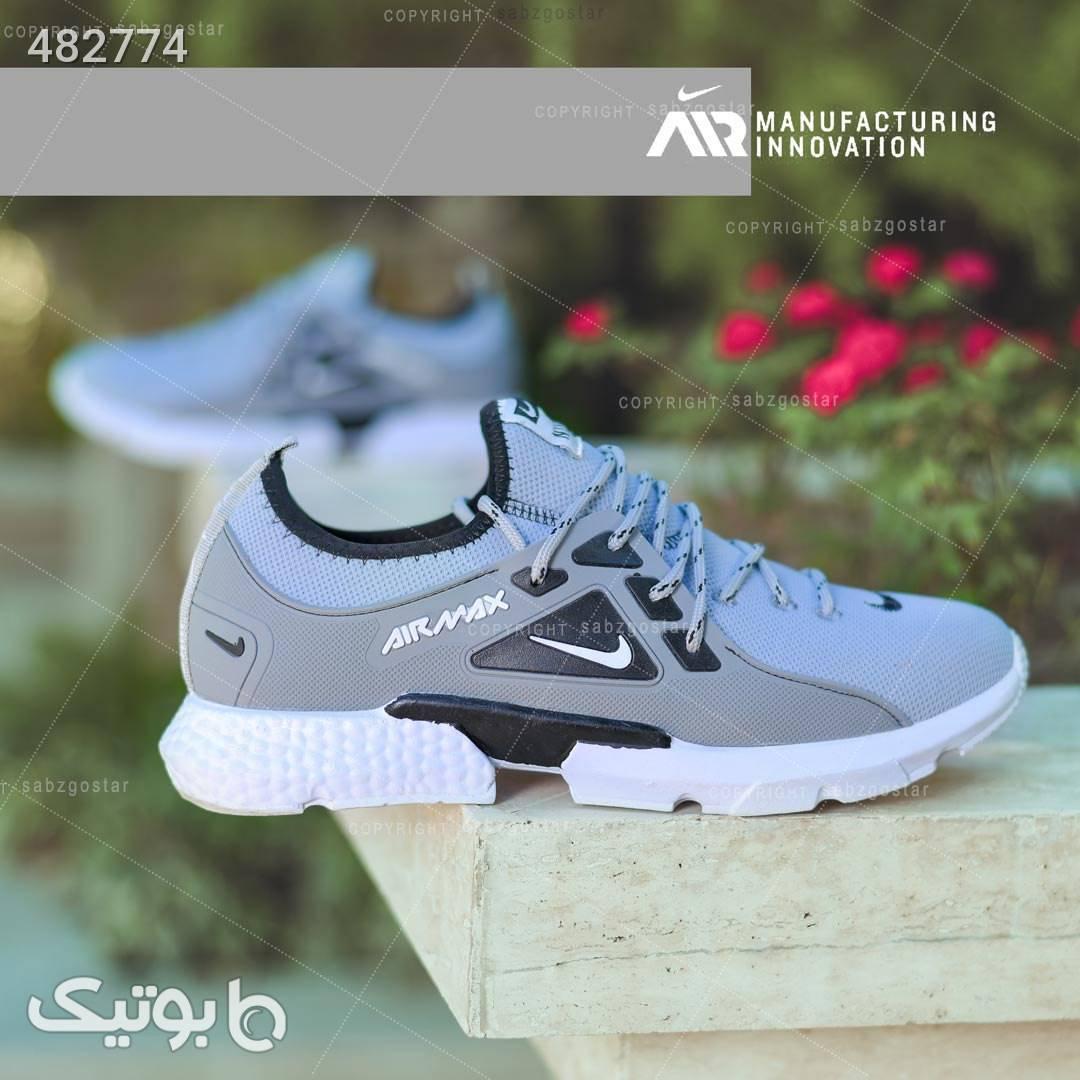 کفش مردانه Nike مدل Tibo نقره ای كفش مردانه