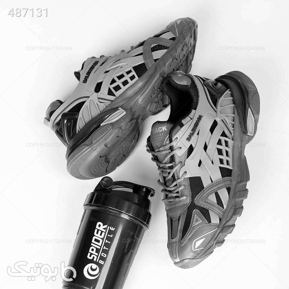 کفش ورزشی مردانه Balenciaga نقره ای كفش مردانه