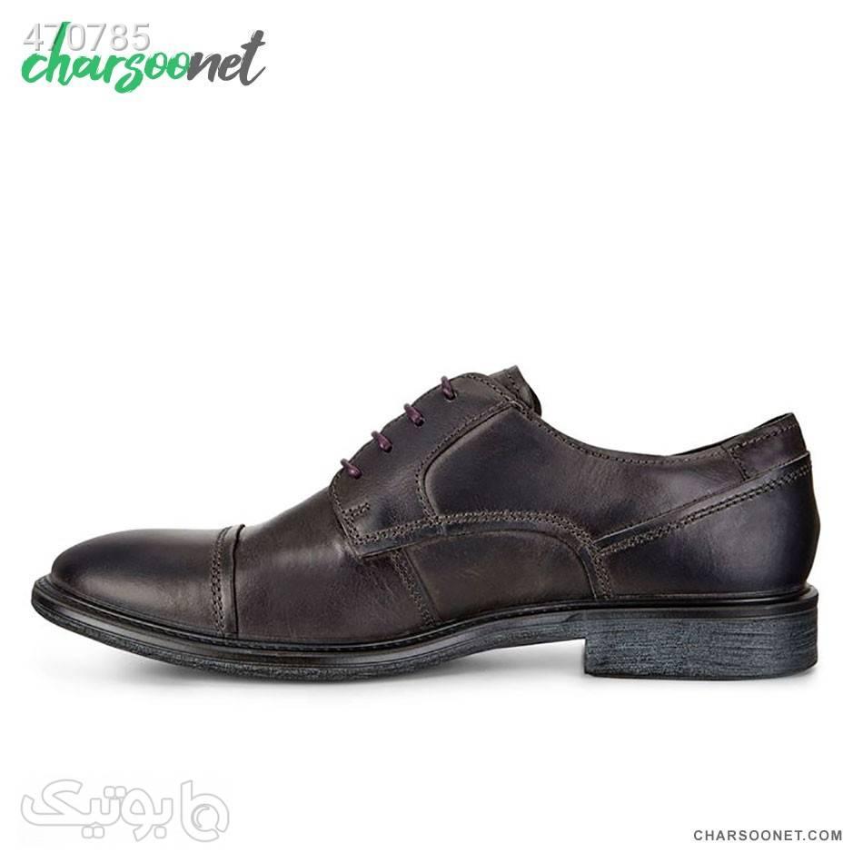 کفش چرم اکو Ecco Knoxville مشکی كفش مردانه