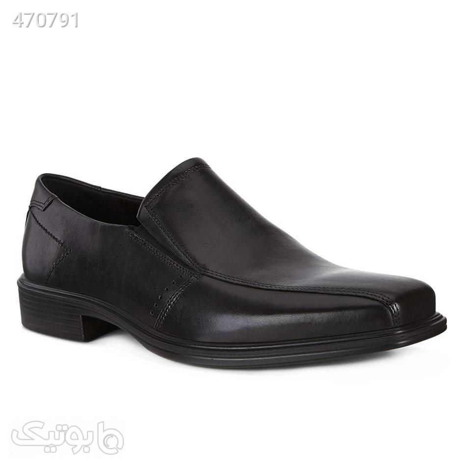 کفش چرم مردانه اکو Ecco Minneapolis مشکی كفش مردانه