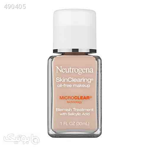 Neutrogena SkinClearing Oil-Free Acne and Blemish Fighting Liquid Foundation with Salicylic Acid Acne Medicine, Shine Controlling, for Acne Prone Skin, 20 Natural Ivory, 1 fl. oz کرم 99 2020