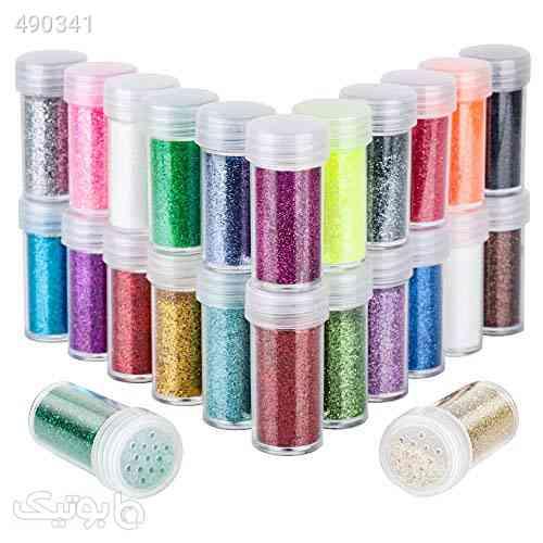 24 Colors Body Glitter for Rave Festival, LEOBRO 24 Jars Cruelty-Free Extra Fine Glitter, Makeup Glitter for Body Face Eye Nail Hair Slime نارنجی 99 2020