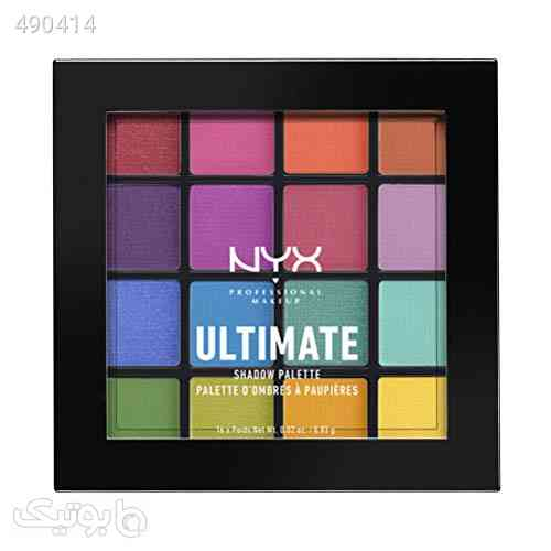 NYX Cosmetics Ultimate Shadow Palette Brights صورتی 99 2020