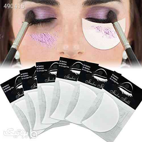 TailaiMei 120 Pcs Professional Eyeshadow Shields for Eye Makeup, Lint Free Eye Pad for Eyelash Extensions/Tinting and Lip Makeup - Under Patches Guards Prevent Makeup Residue بنفش 99 2020