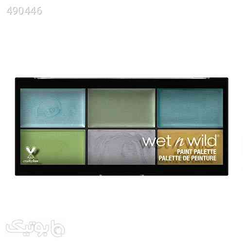 wet n wild Fantasy Makers Paint Palette, Metallics فیروزه ای 99 2020