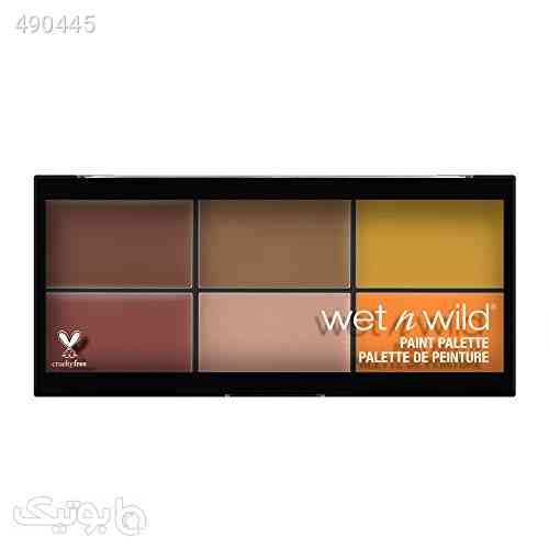 wet n wild Fantasy Makers Paint Palette, Neutrals نارنجی 99 2020