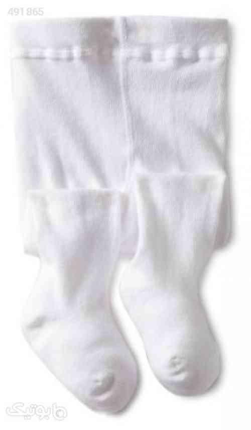 Jefferies Socks Baby Girls&x27; Seamless Organic Cotton Tights سفید 99 2020