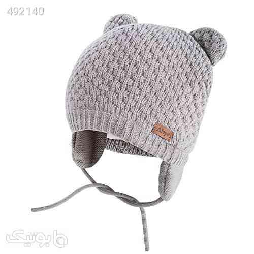 Winter Beanie Hat for Baby Kids Toddler Infant Newborn, Earflap Cute Warm Fleece Lind Knit Cap for Boys Girls طوسی 99 2020