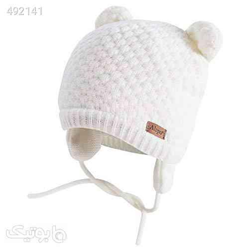 Winter Beanie Hat for Baby Kids Toddler Infant Newborn, Earflap Cute Warm Fleece Lind Knit Cap for Boys Girls سفید 99 2020