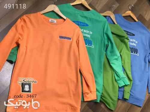 تی شرت بسیار زیبا نارنجی 99 2020